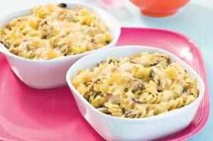 Gluten Free Tuna & Mushroom Pasta Bake