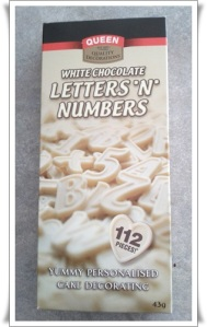 Chocolate Numbers and Letters