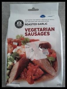 Gluten Free Vegetarian Sauages