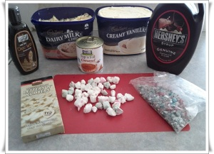 Ice Cake Ingredients