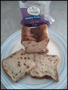Gluten Free Fruit Loaf