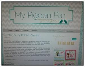 My Pigeon Pair