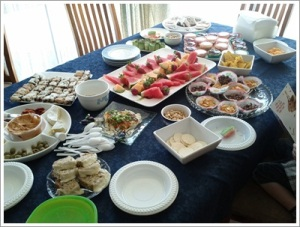 Party Food Spread