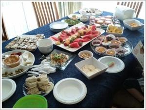 Party Food Spread