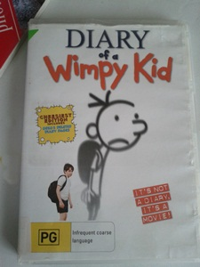 Diary of Wimpy Kid DVD