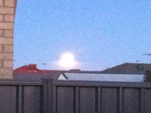 Bad Photo of Supermoon