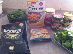 Cous Cous Recipe Ingredients