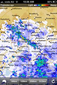 Rain Radar June 13