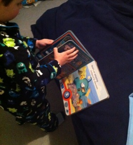 Reading Octonauts