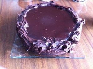 Birthday Choc Cake