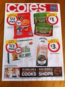 Coles Specials 10 July 1