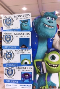 Monsters Inc Cut Out