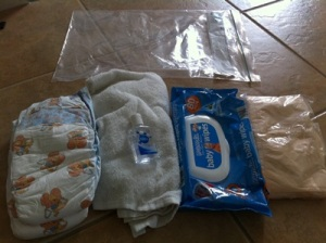Toddler Nappies for Carry On