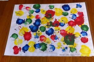 Painted Place Mat