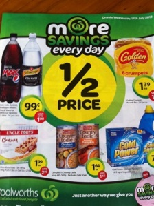 Woolies Specials 17th July 10