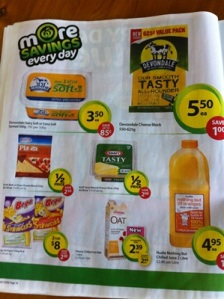 Woolies Specials 3rd July 3